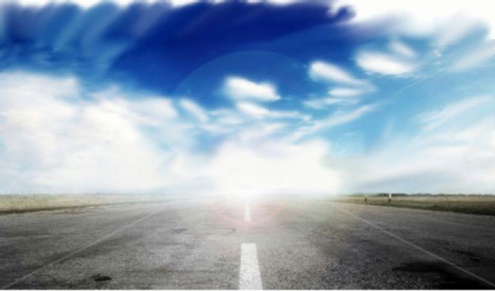 Lone Road - LeMarrArt