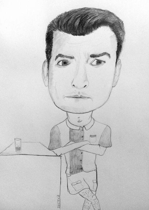 Charlie Sheen - Randy Maske Artist