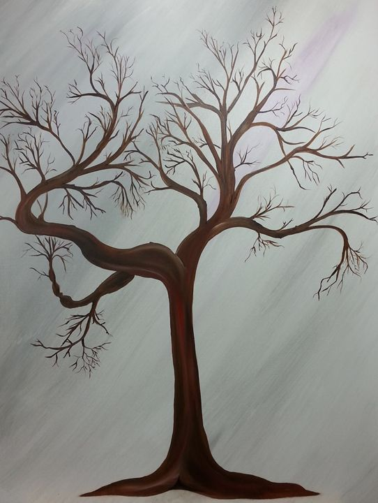Untitled Tree 1 - Randy Maske Artist