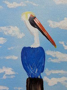 Pelican Perch - Randy Maske Artist