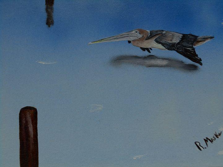 Skimming the bay - Randy Maske Artist