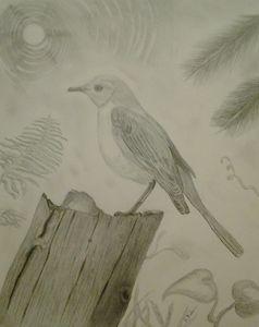 Mockingbird - Randy Maske Artist
