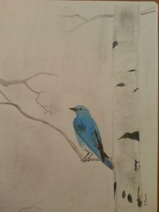 Blue Bird - Randy Maske Artist