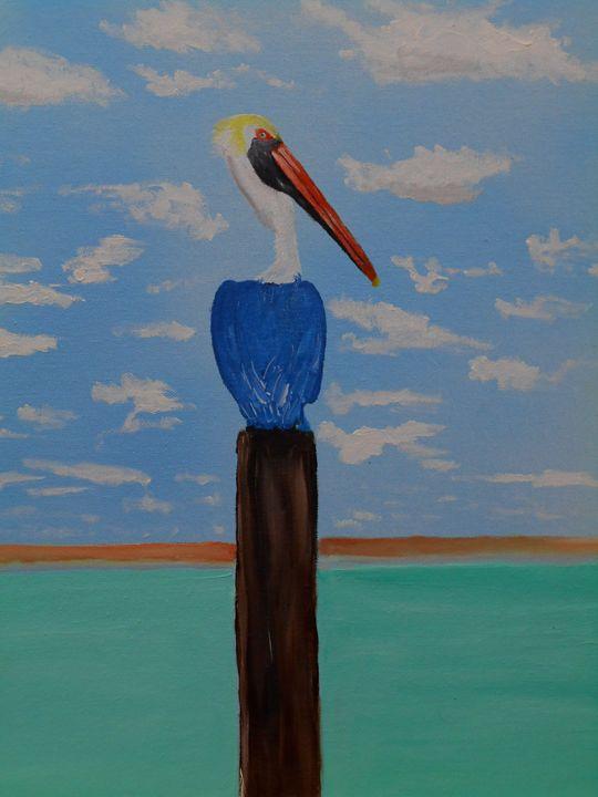 Perched - Randy Maske Artist
