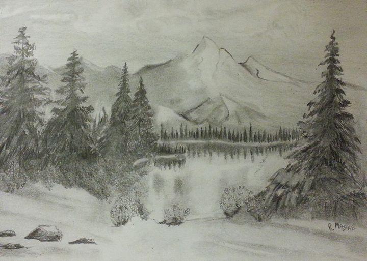 Cold lake - Randy Maske Artist