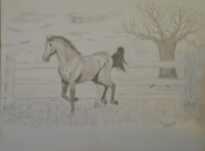 Untited horse - Randy Maske Artist