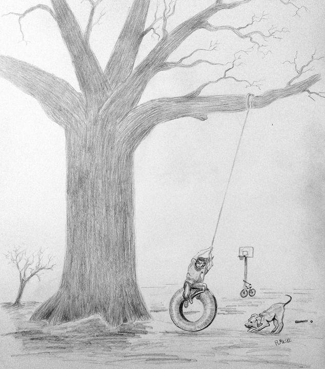Childhood - Randy Maske Artist