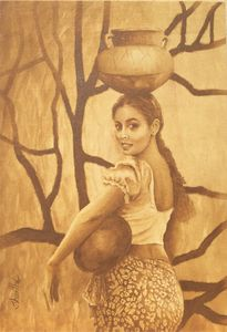 Village Girl - David Gallery