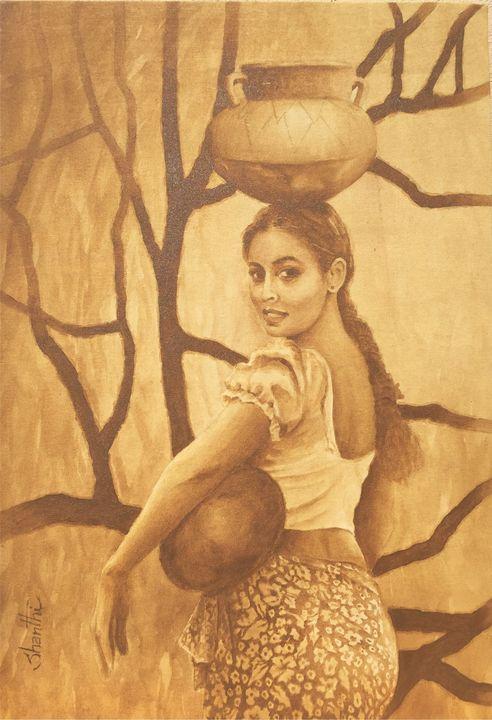 Village Girl - David Gallery