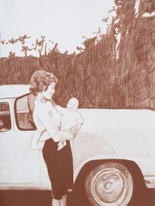 Shirley with Baby Bill
