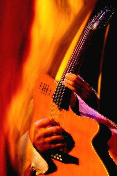 Jazz Guitar - Marc-André Le Tourneux, photographer