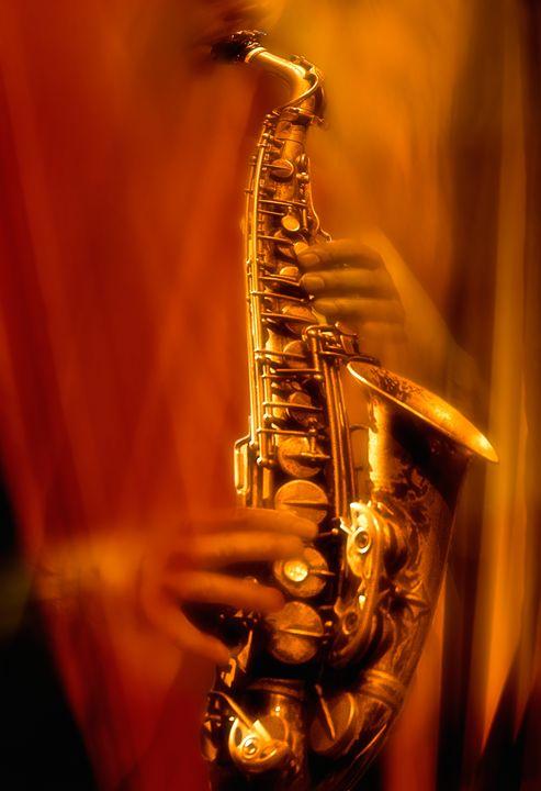 Alto Saxophone - Marc-André Le Tourneux, photographer