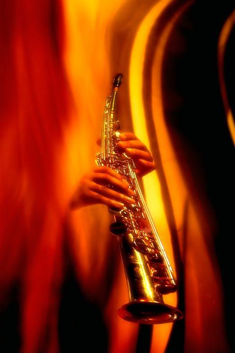 Soprano Saxophone - Marc-André Le Tourneux, photographer