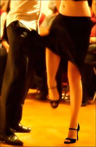 Tango art photo