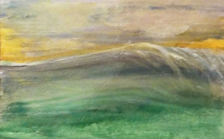 Oceanic Impression: a watercolor - ARThompson