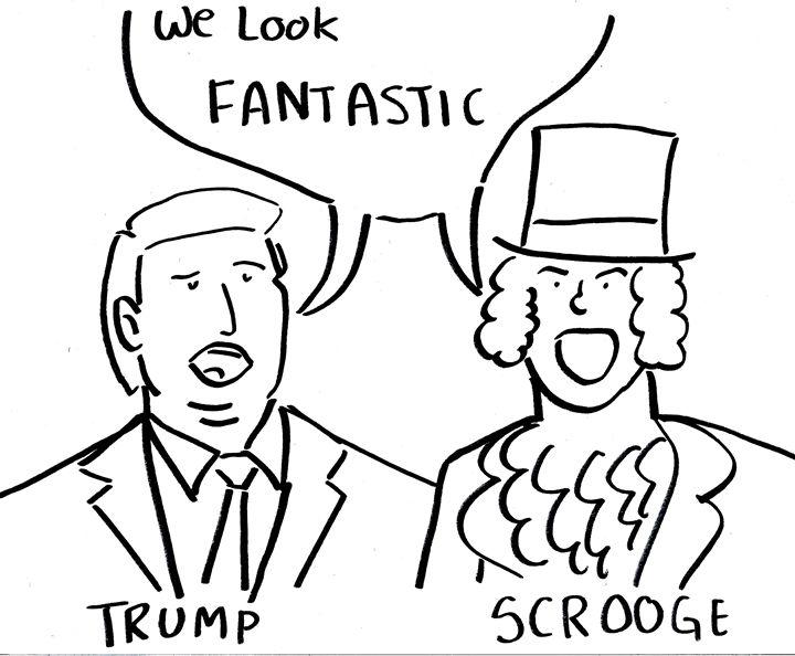 Trump and Scrooge - Josh Smith