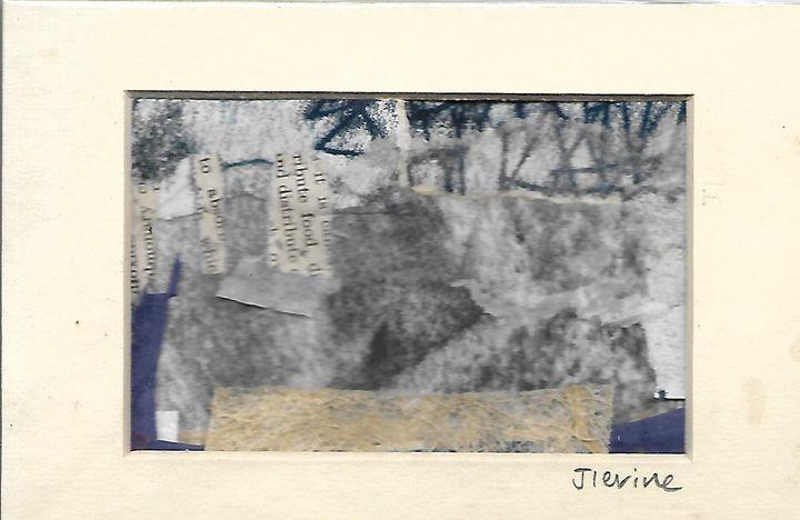 Mixed media collage 1 - Jess Levine Artist