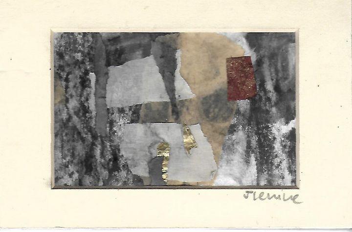 Mixed media collage 19 - Jess Levine Artist