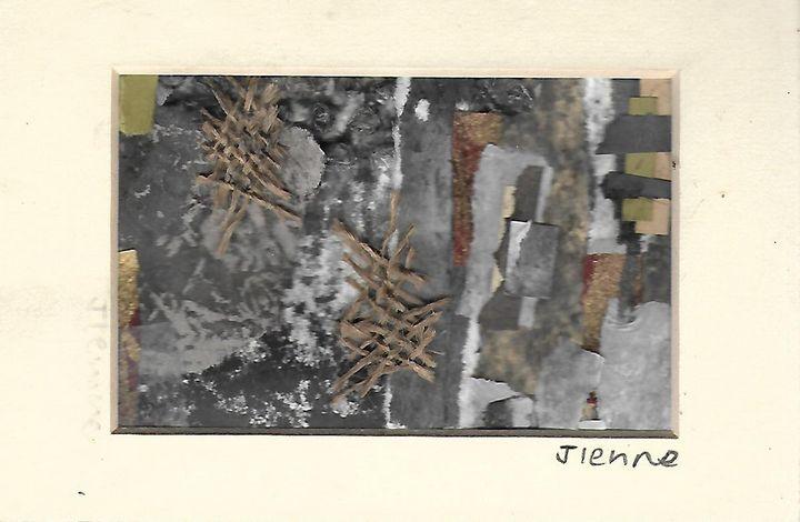 Mixed media collage 18 - Jess Levine Artist