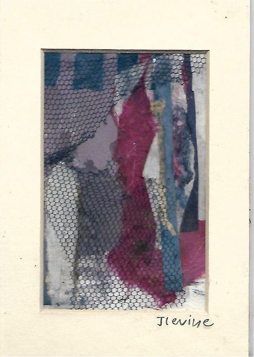 Mixed media collage 16 - Jess Levine Artist