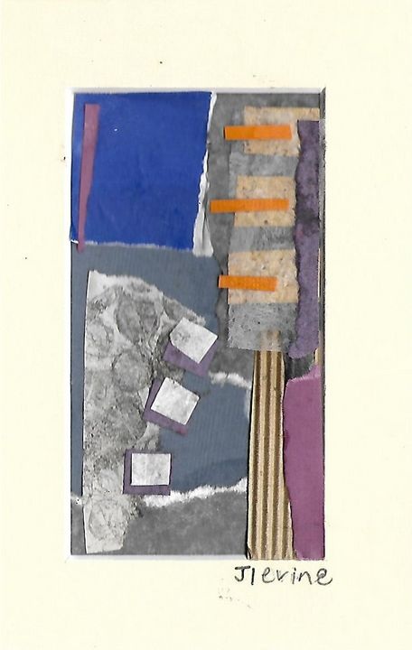 Mixed media collage 15 - Jess Levine Artist