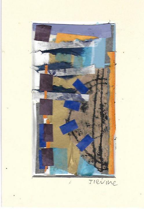 Mixed media collage 14 - Jess Levine Artist