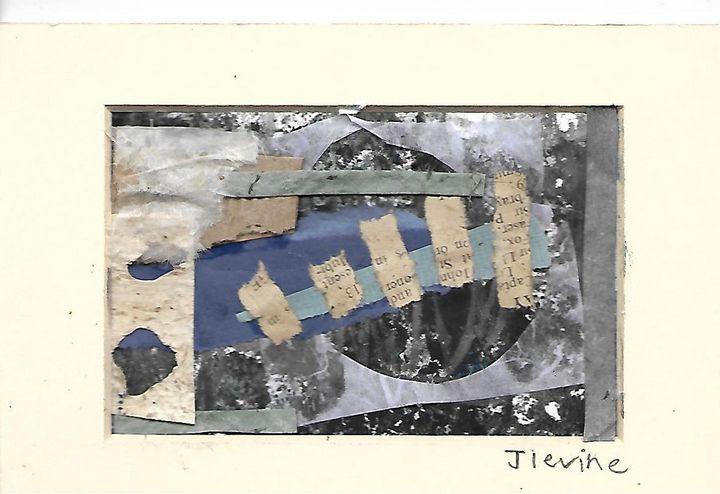 Mixed media collage 12 - Jess Levine Artist