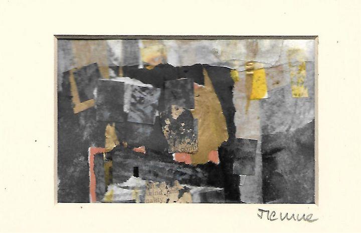 Mixed media collage 11 - Jess Levine Artist