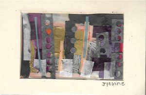 Mixed media collage 2
