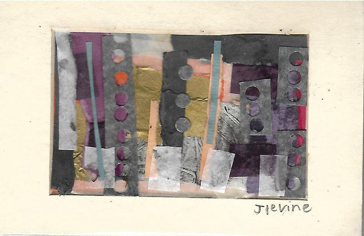 Mixed media collage 2 - Jess Levine Artist
