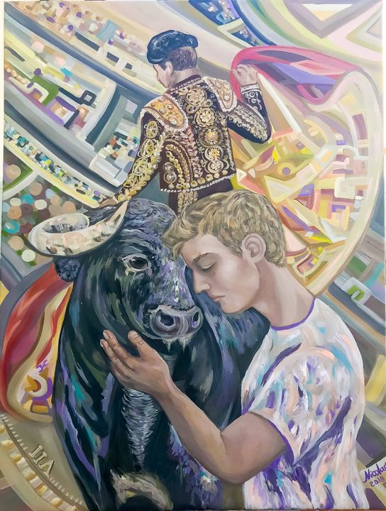 """""""Kiss"""" - Pintor Nicolas"""