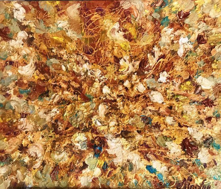 """""""Golden Autumn"""" - Pintor Nicolas"""