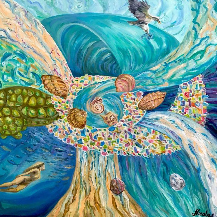 """Mediterranean Force"" - Pintor Nicolas"