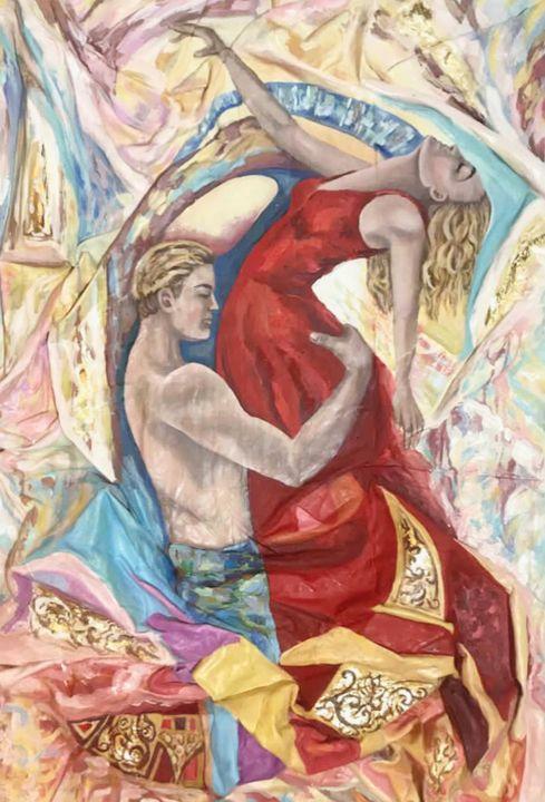 Amor Brujo - Pintor Nicolas