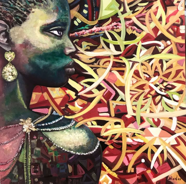 My African Story - Pintor Nicolas