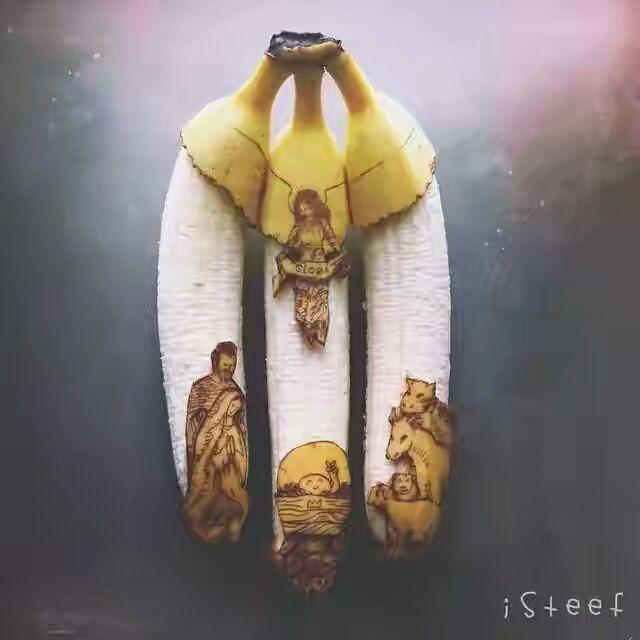 banana drawining - soclose