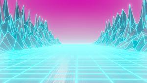 80s Retro Art