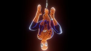 Spiderman Marvel Neon
