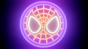 Spiderman Marvel Neon Sign