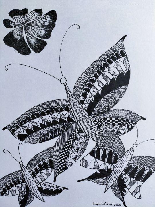 The floating butterflies - My Art Gallery