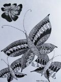 The floating butterflies