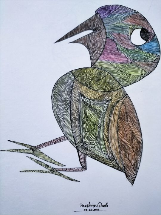 The Little Bird - My Art Gallery