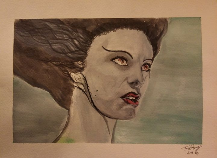 The Bride of Frankenstein - MsAnnThrope's Gallery
