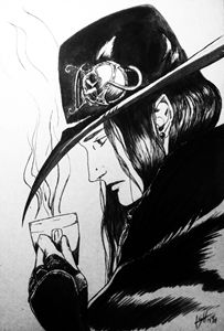 Vampire Hunter D (FanArt)