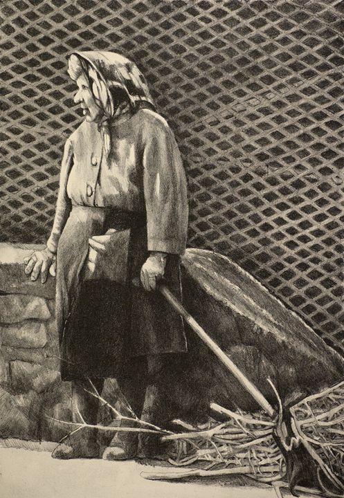 The Stick Woman - Tom David