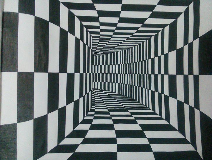 illusion - pankaj's artwork