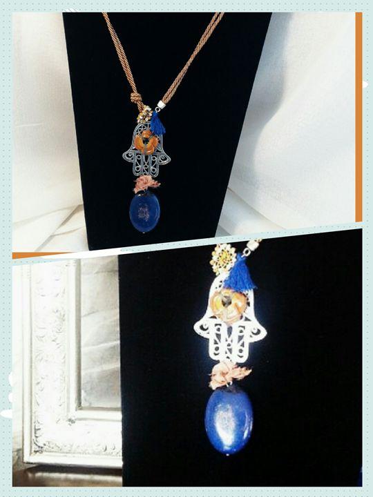Handmade OOAK Necklace - Aleaf