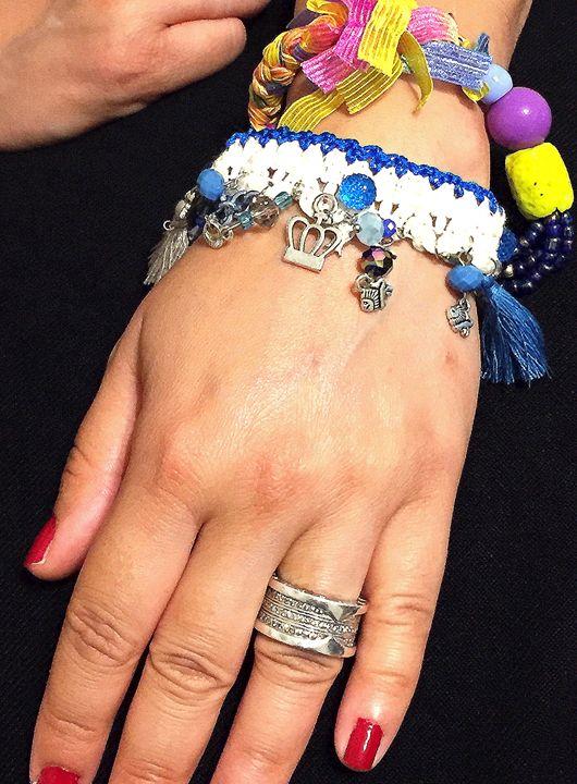 OOAK Cuff Bracelet - Aleaf