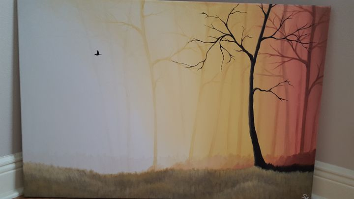 Morning Bird - Painted Forests