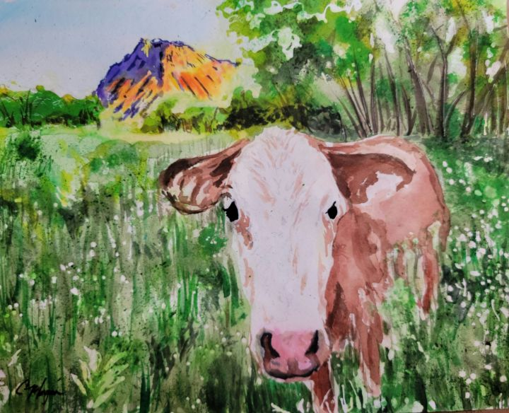 Monument Cow - Cyndy Morgan